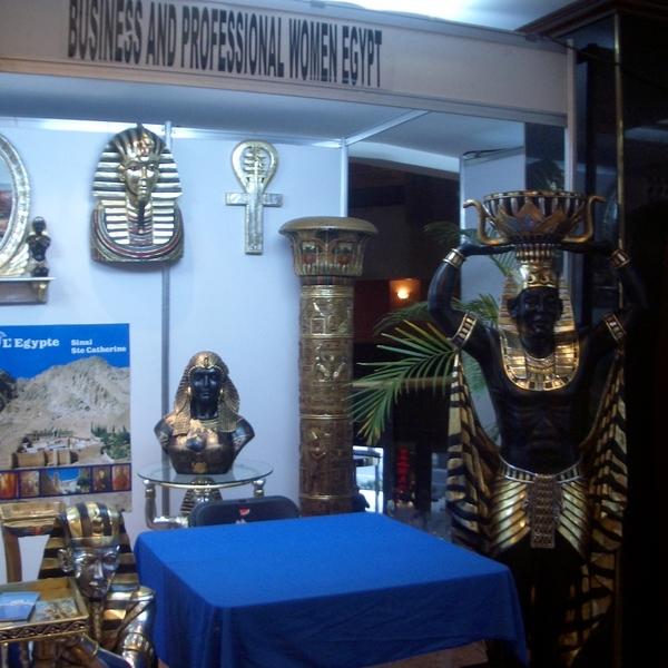 Verkaufsstand aus Ägypten
